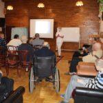 Mieszkańcy DPS uczestniczą w zajęciach terapeutycznych